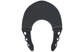 YS STRETCH COLLAR BLACK/BLACK 0.3mm
