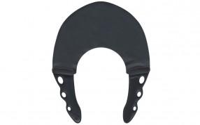 YS STRETCH COLLAR BLACK/BLACK 0.6mm