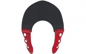 YS STRETCH COLLAR BLACK/RED 0.6mm