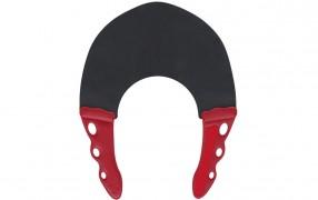 YS STRETCH COLLAR BLACK/RED 0.6mm