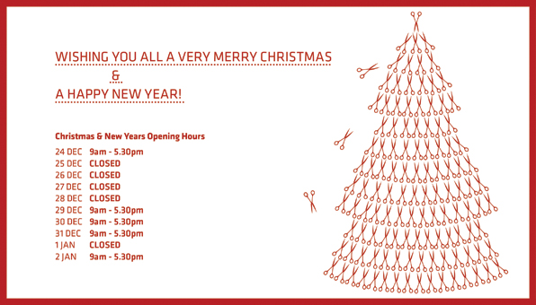 Before we do we'd like to wish everyone a very merry Christmas and best wishes for the new year.